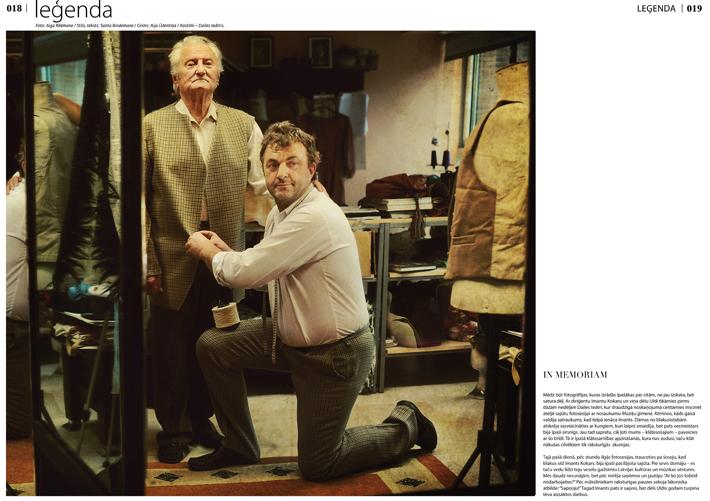 Kokaru un Pūču ģimenes žurnālam Figaro