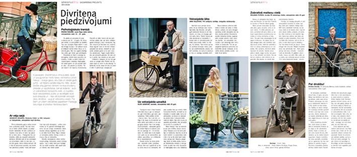Dutch Bike žurnālā Pastaiga