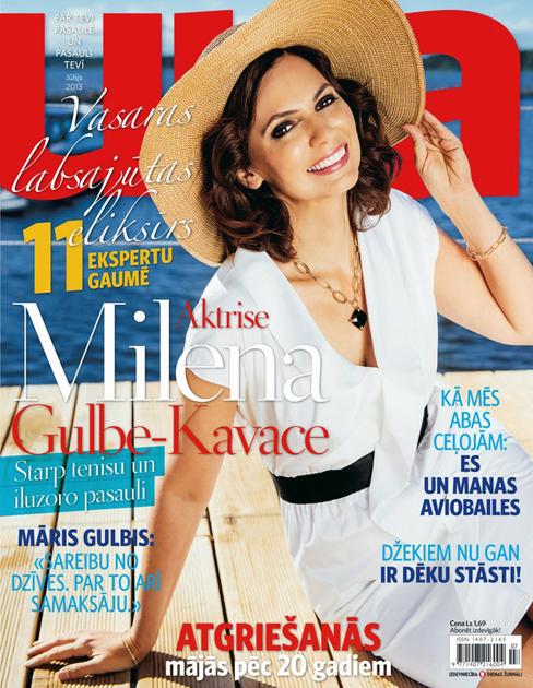 Milena Gulbe-Kavace žurnālam Una