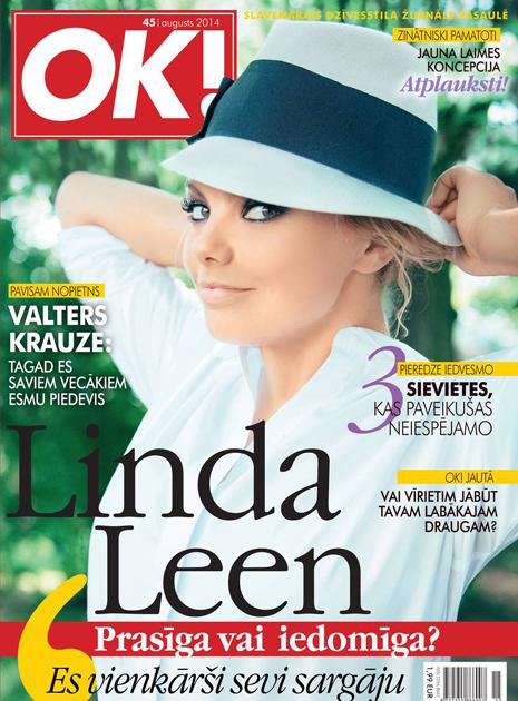 Linda Leen žurnālam OK!