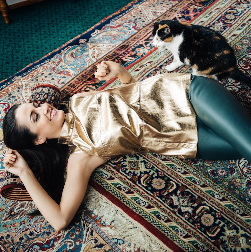 Laura Groza-Ķibere for Santa Magazine