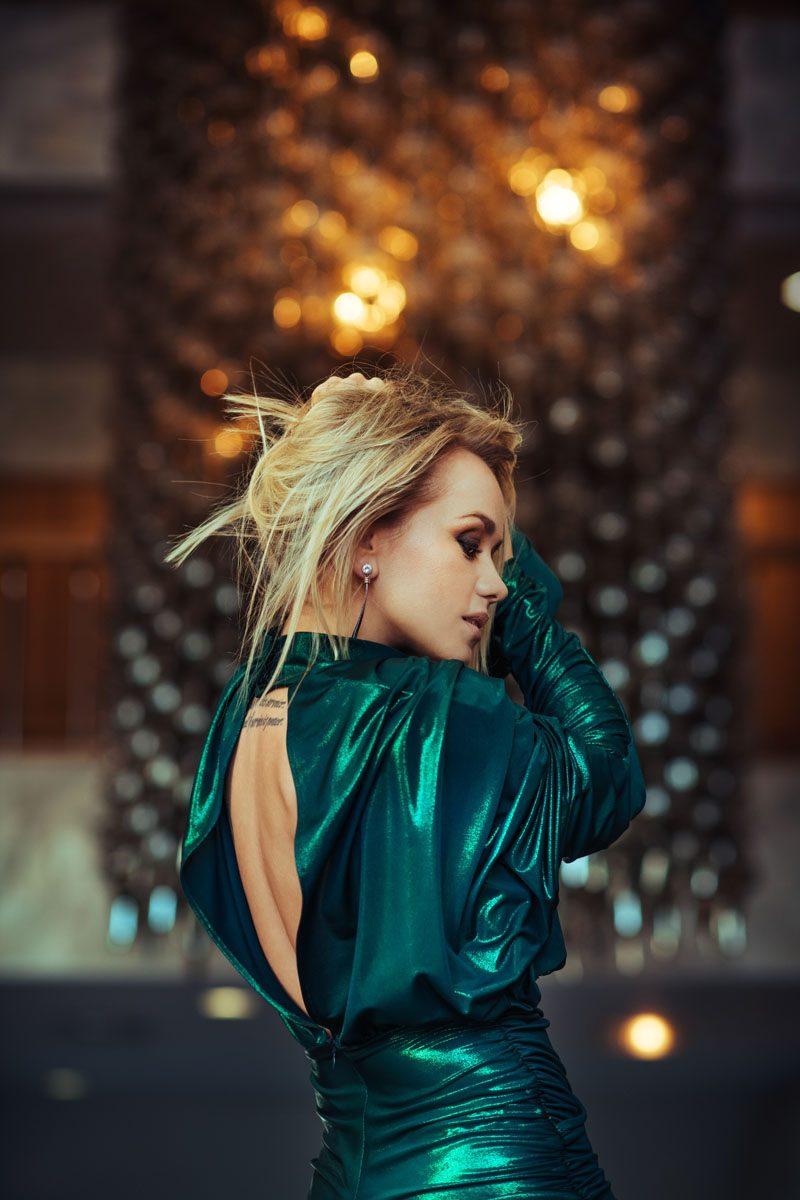 Aija Andrejeva for Santa Magazine