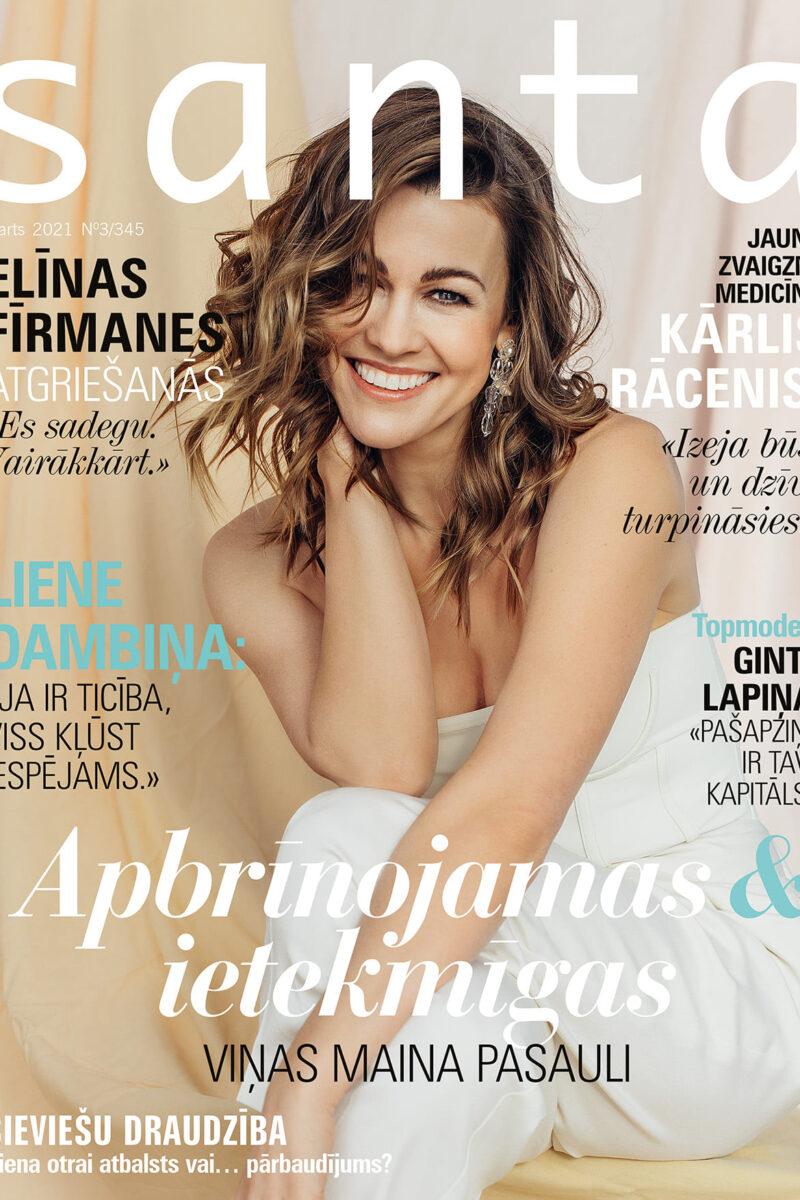 Elīna Fīrmane for Santa Magazine