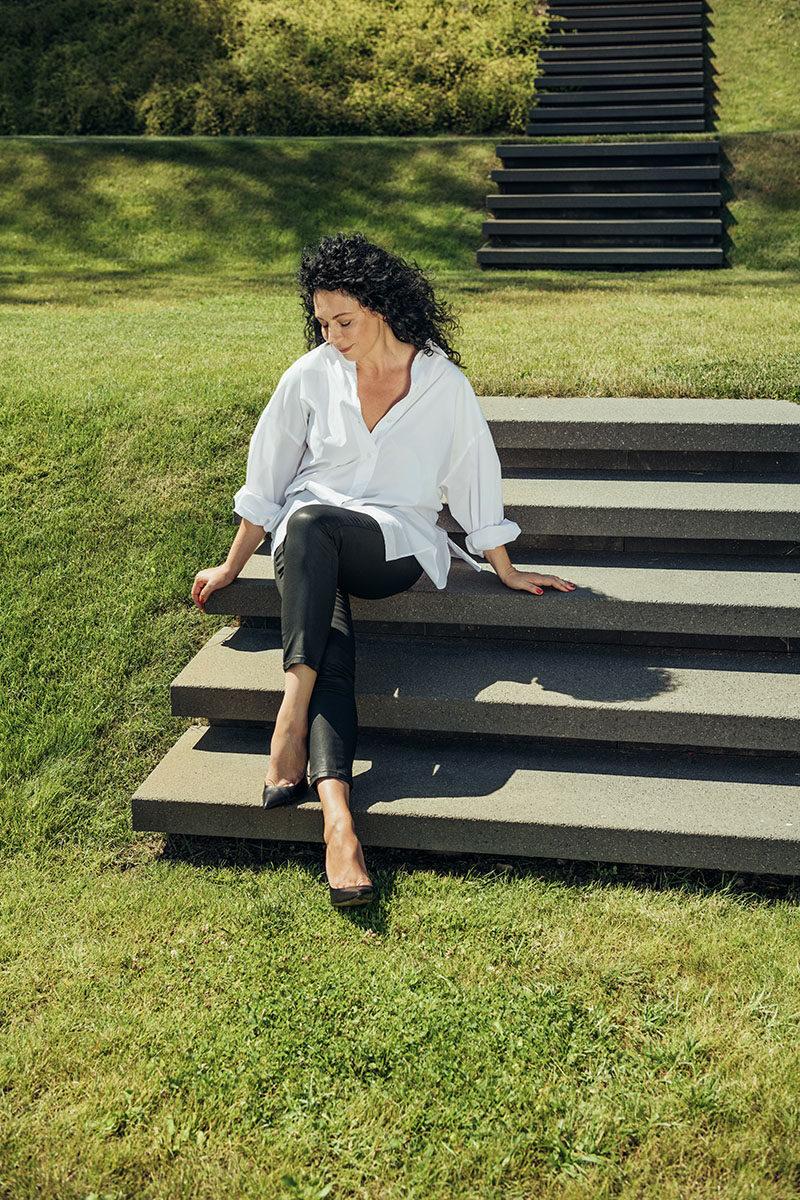 Linda Zaļā for Pērle Magazine